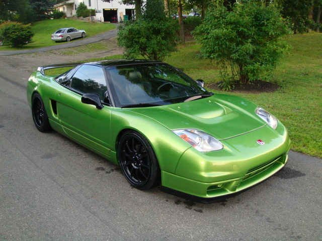 HONDA NSX green