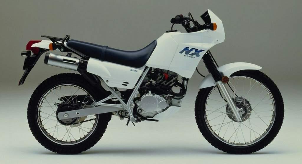 HONDA NX 125 black