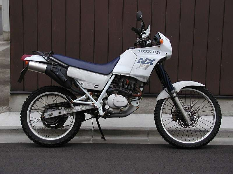 HONDA NX 125 engine