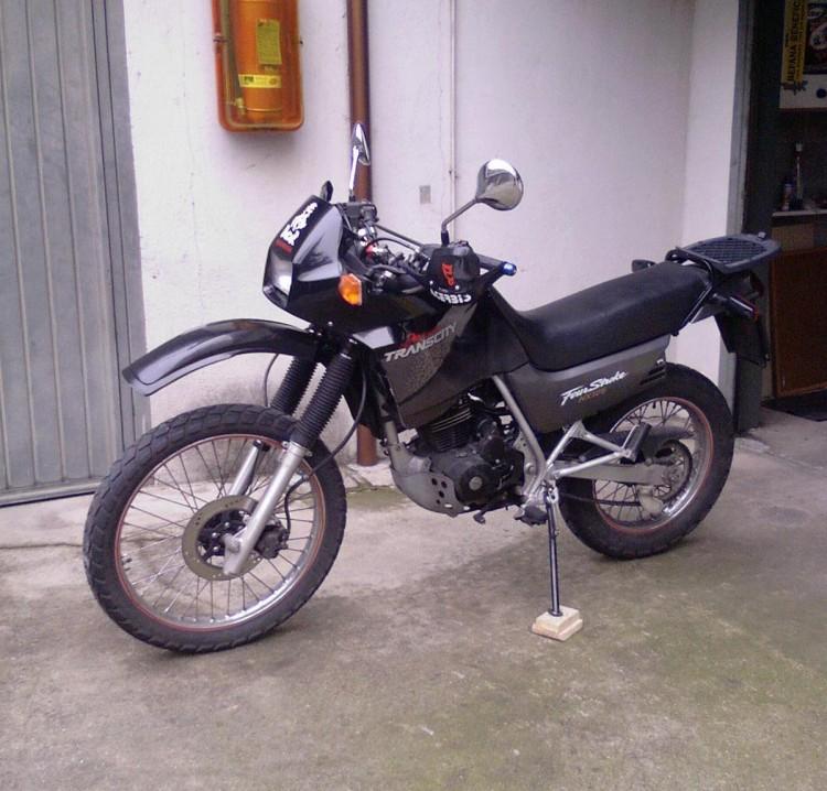 HONDA NX 125 white