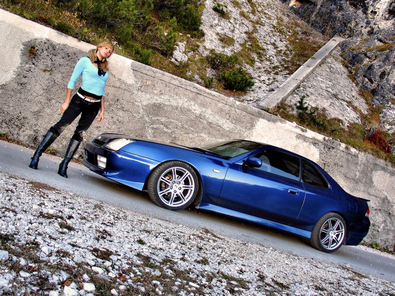 HONDA PRELUDE blue