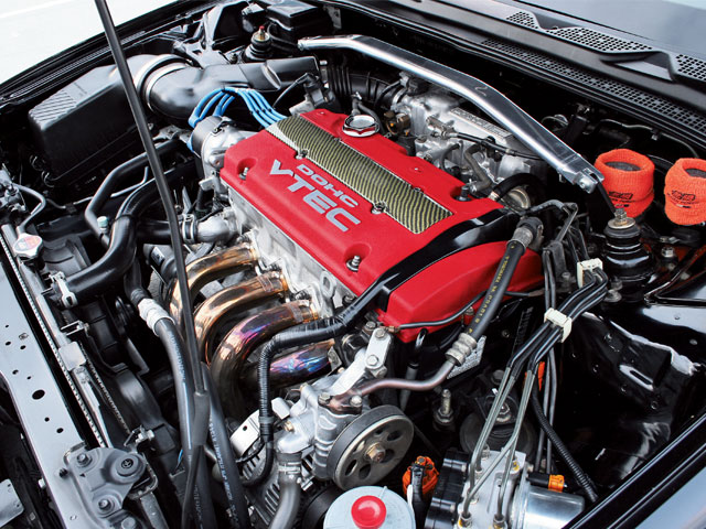 HONDA PRELUDE engine