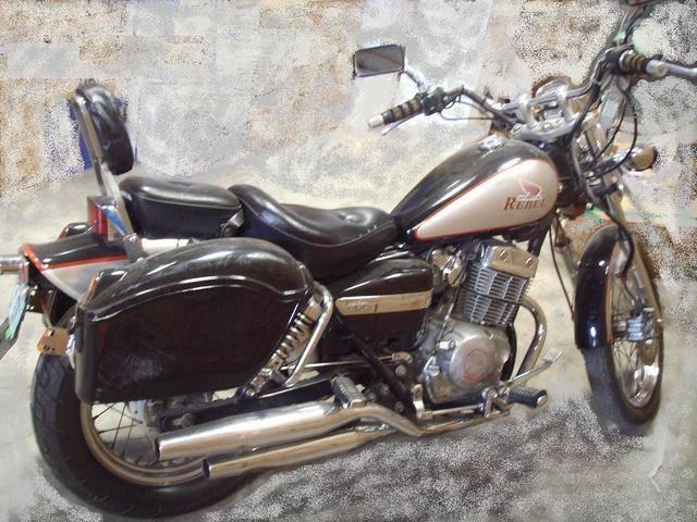 HONDA REBEL black
