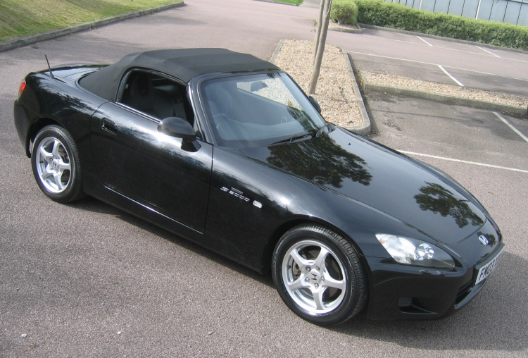 HONDA S 2000 black
