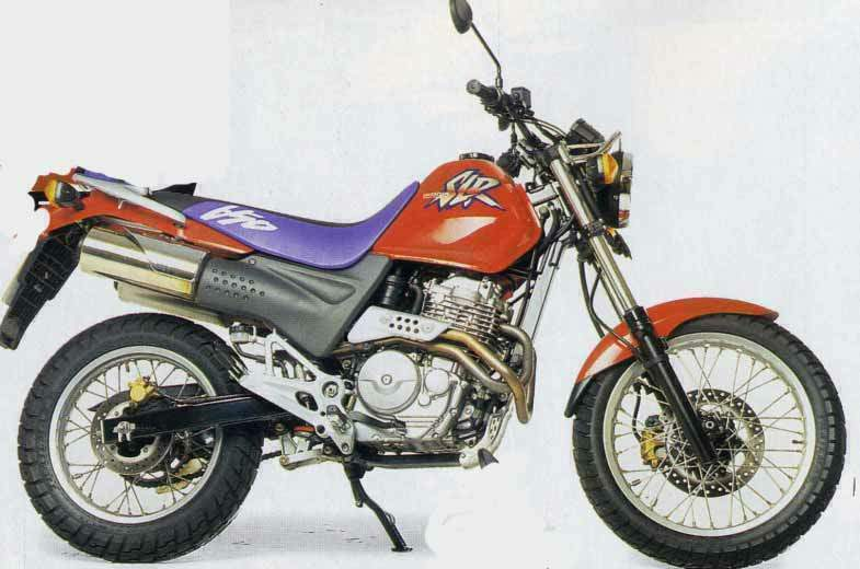 HONDA SLR 650 black