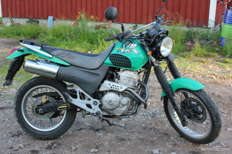 HONDA SLR 650 green