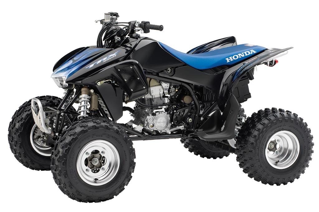 HONDA TRX450R blue