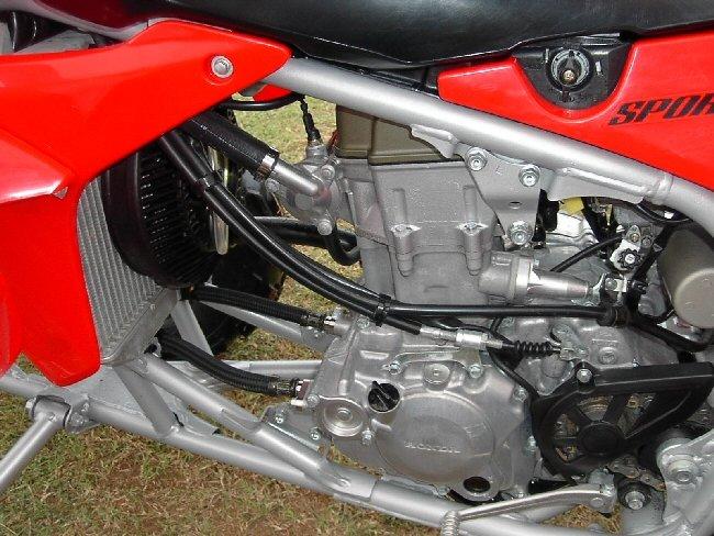 HONDA TRX450R engine
