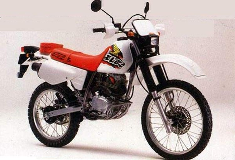 HONDA XLR brown