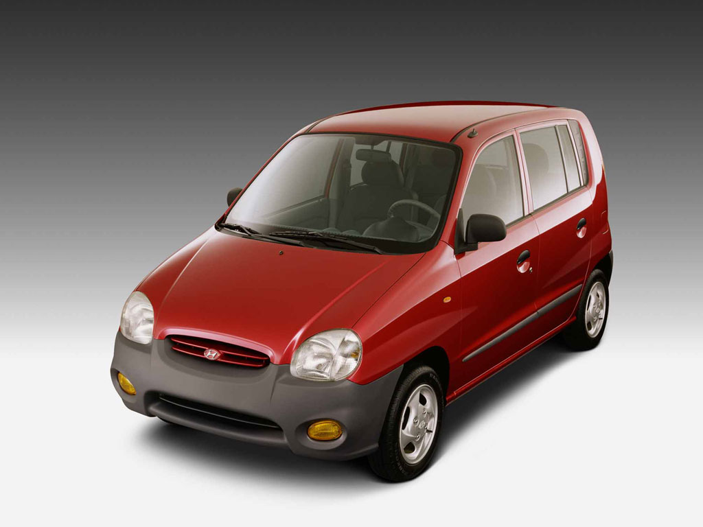 HYUNDAI ATOS red