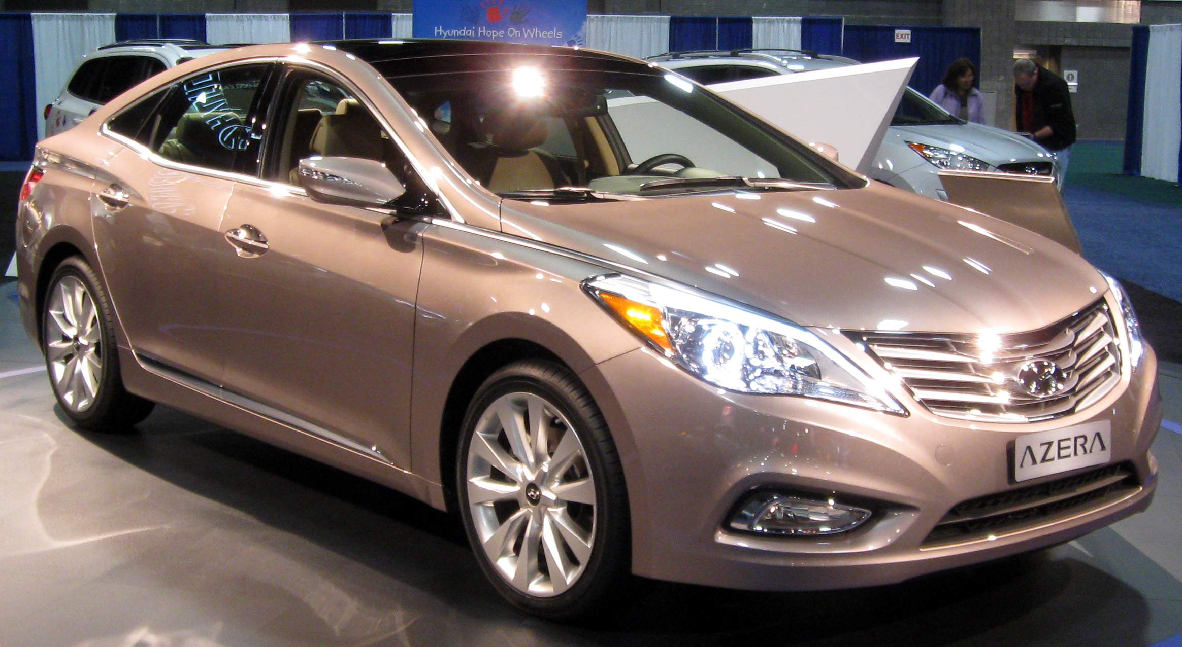 black option information carsedan leather advert azera hyundai with brown full interior vehicles