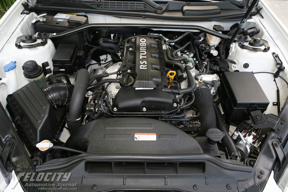 HYUNDAI GENESIS 2.0T engine