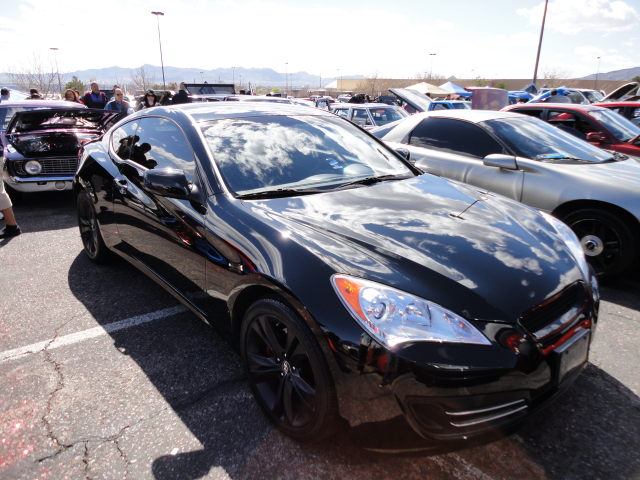 HYUNDAI GENESIS COUPE black