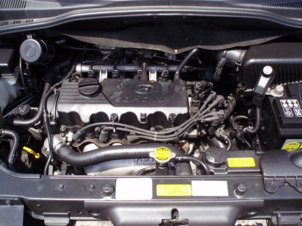 HYUNDAI GETZ engine