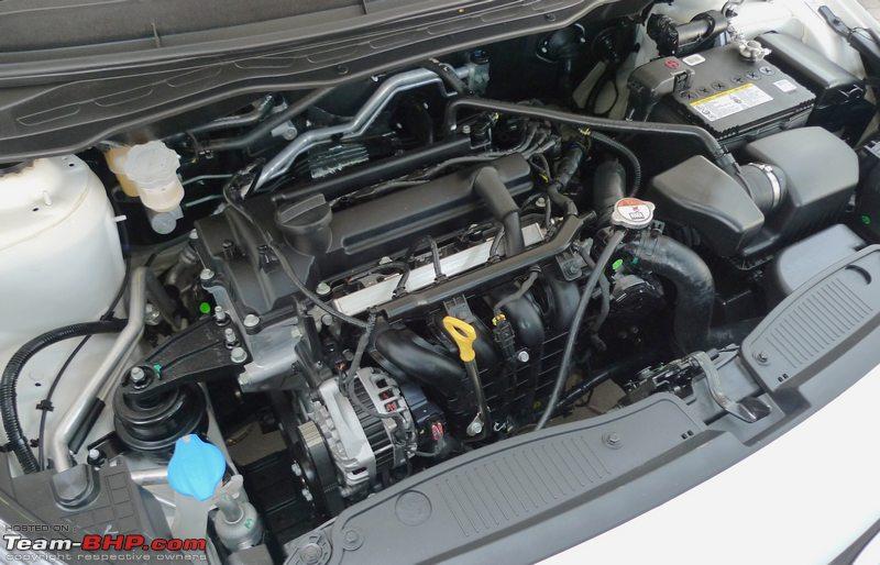HYUNDAI I20 engine