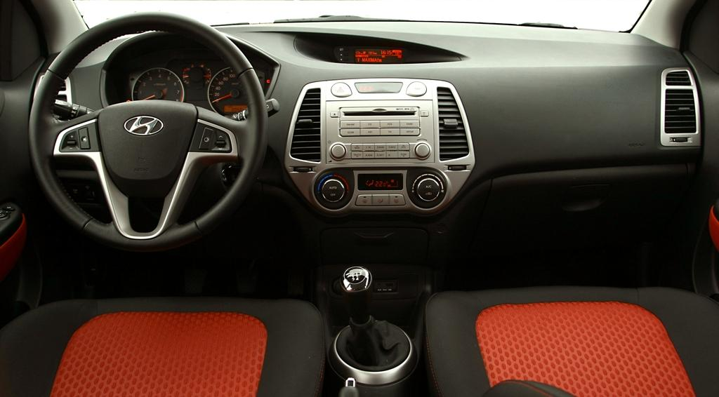 Hyundai i20 review and photos - Hyundai i20 interior ...