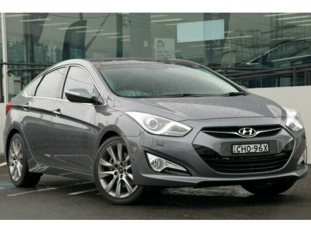 HYUNDAI I40 AT silver