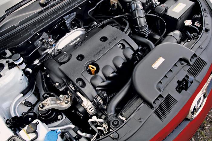 HYUNDAI IX20 engine