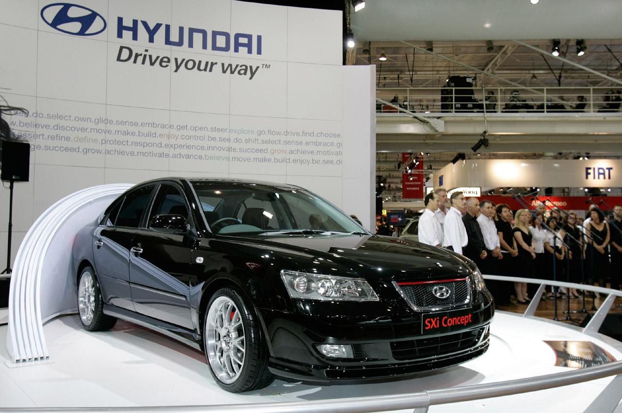 HYUNDAI SONATA 3.3 V6 brown