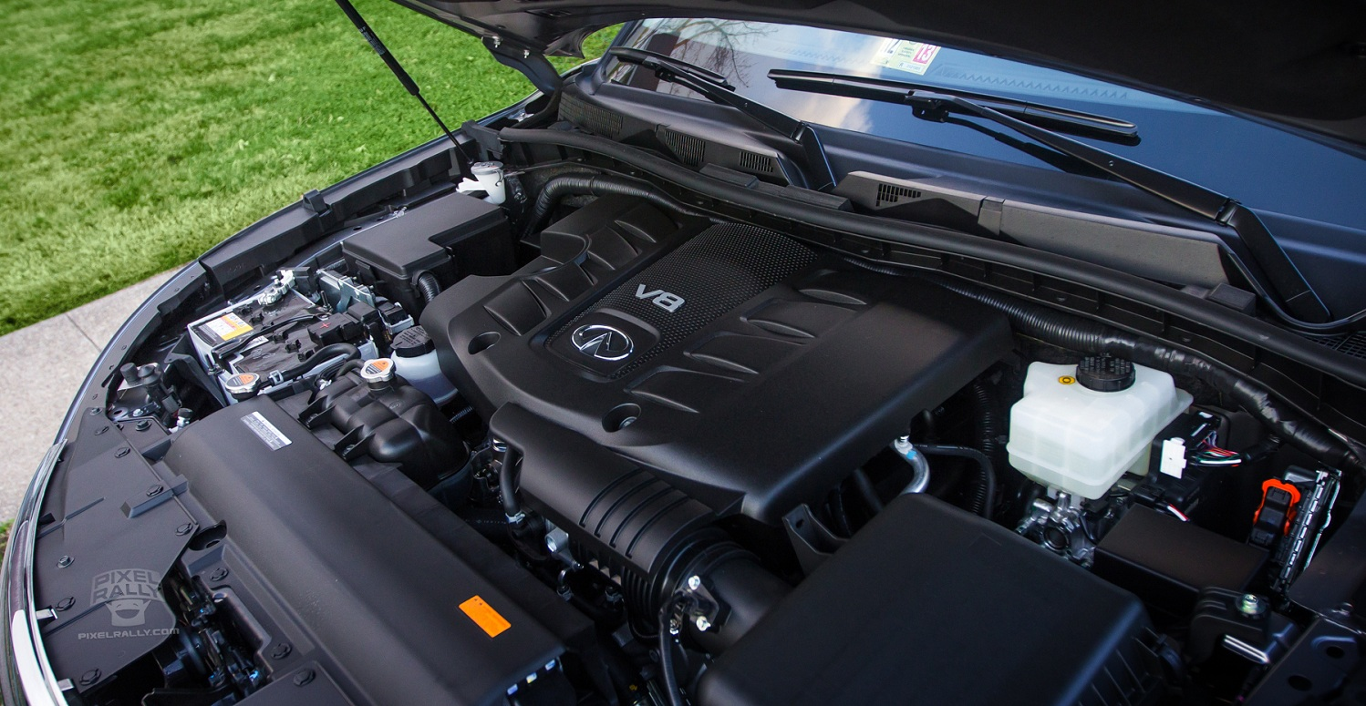 INFINITI QX 56 engine
