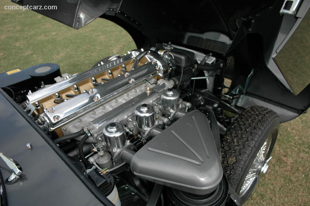 JAGUAR E-TYPE 1 engine