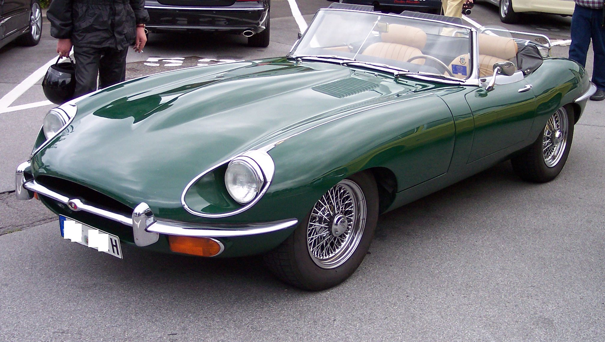 JAGUAR E-TYPE 1 green