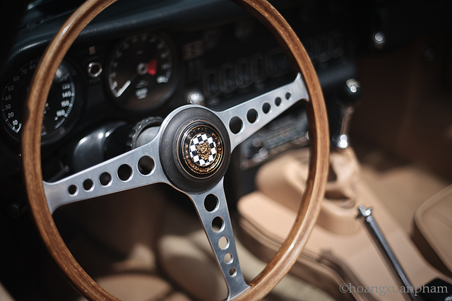 JAGUAR E-TYPE 1 interior