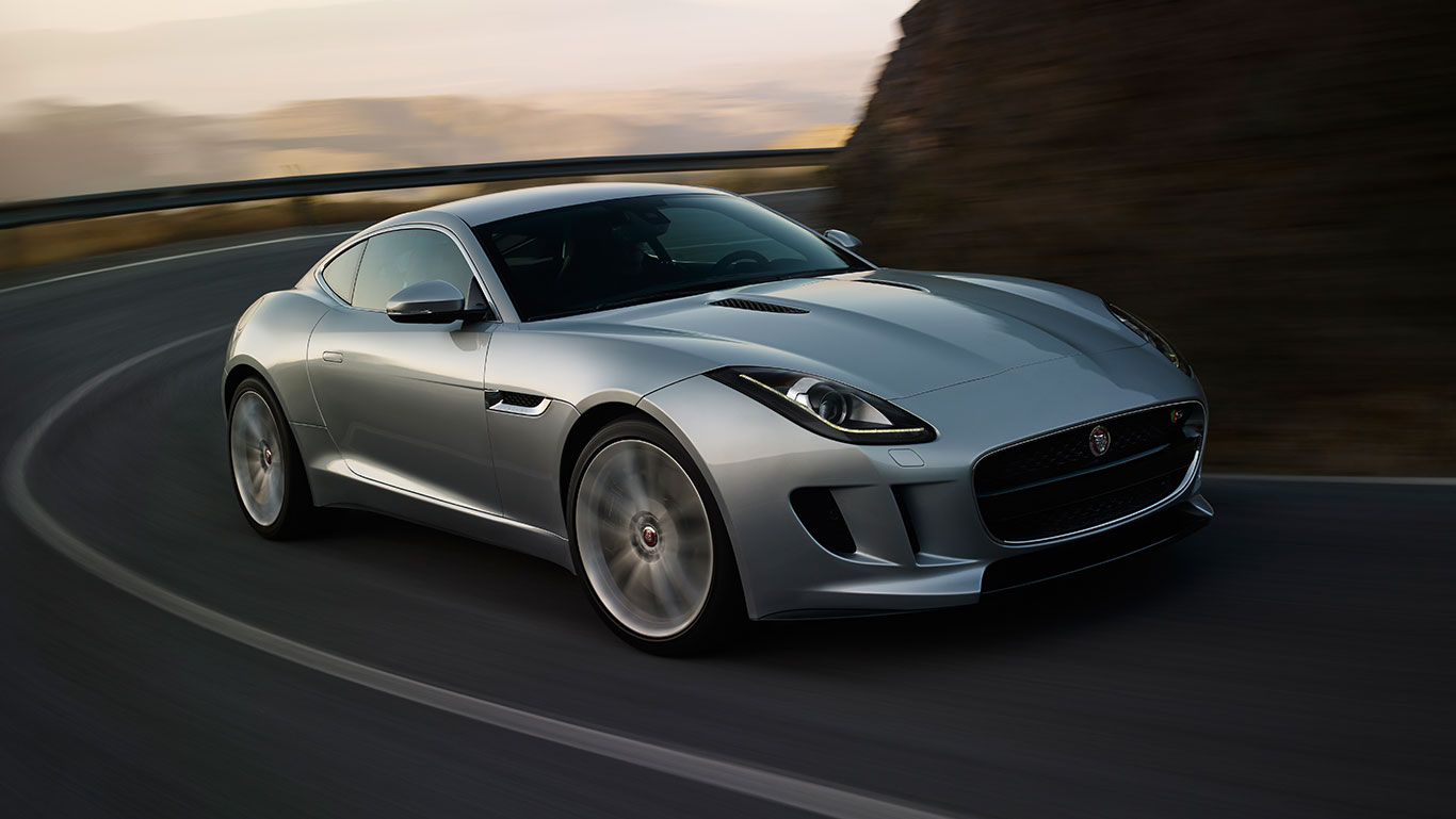 jaguar wallpaper (jaguar f-type)