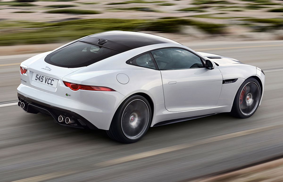 Jaguar land rover unveils f type coupe at 2014 - Jaguar f type r coupe prix ...