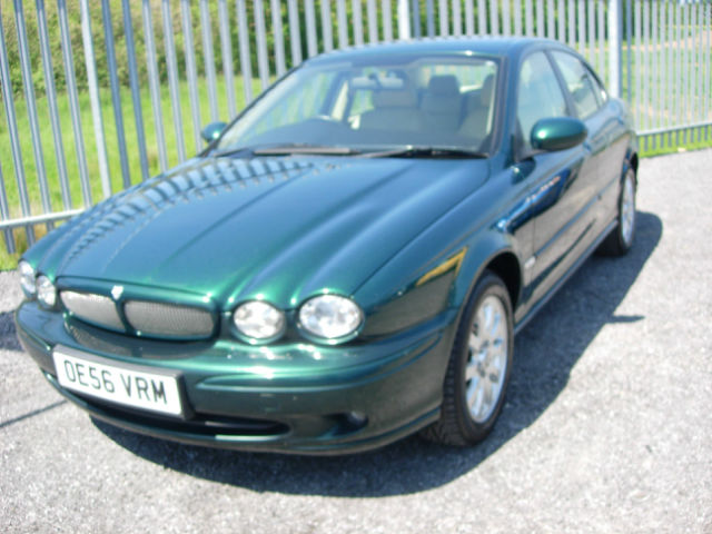 JAGUAR X-TYPE 2.0 D green