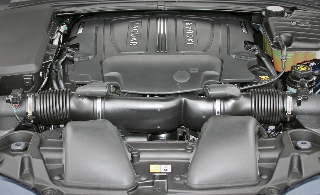 JAGUAR XF 10 engine