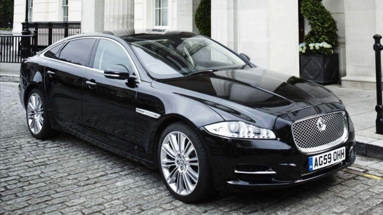 JAGUAR XF black