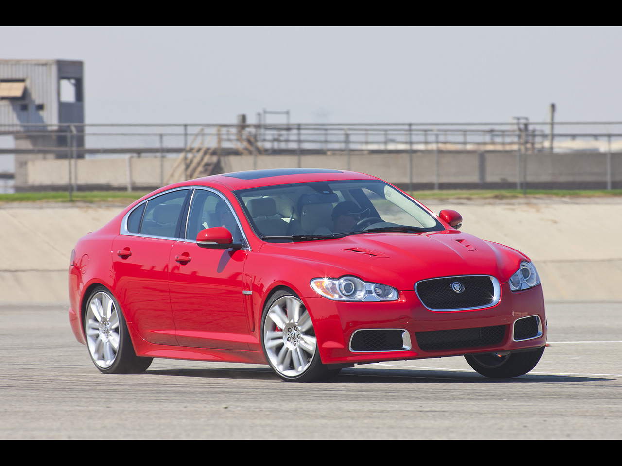 JAGUAR XF red