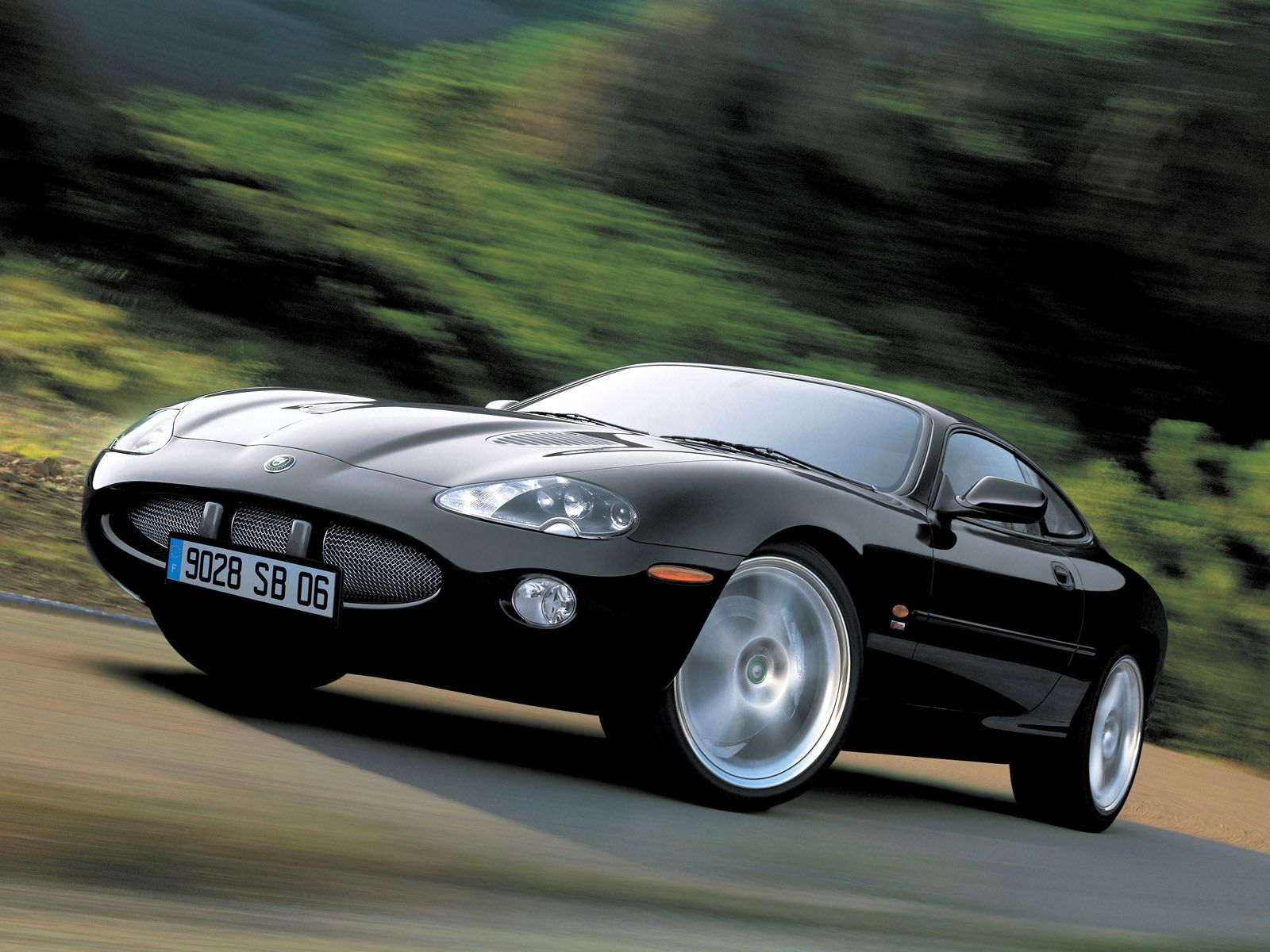 jaguar wallpaper (Jaguar XK)