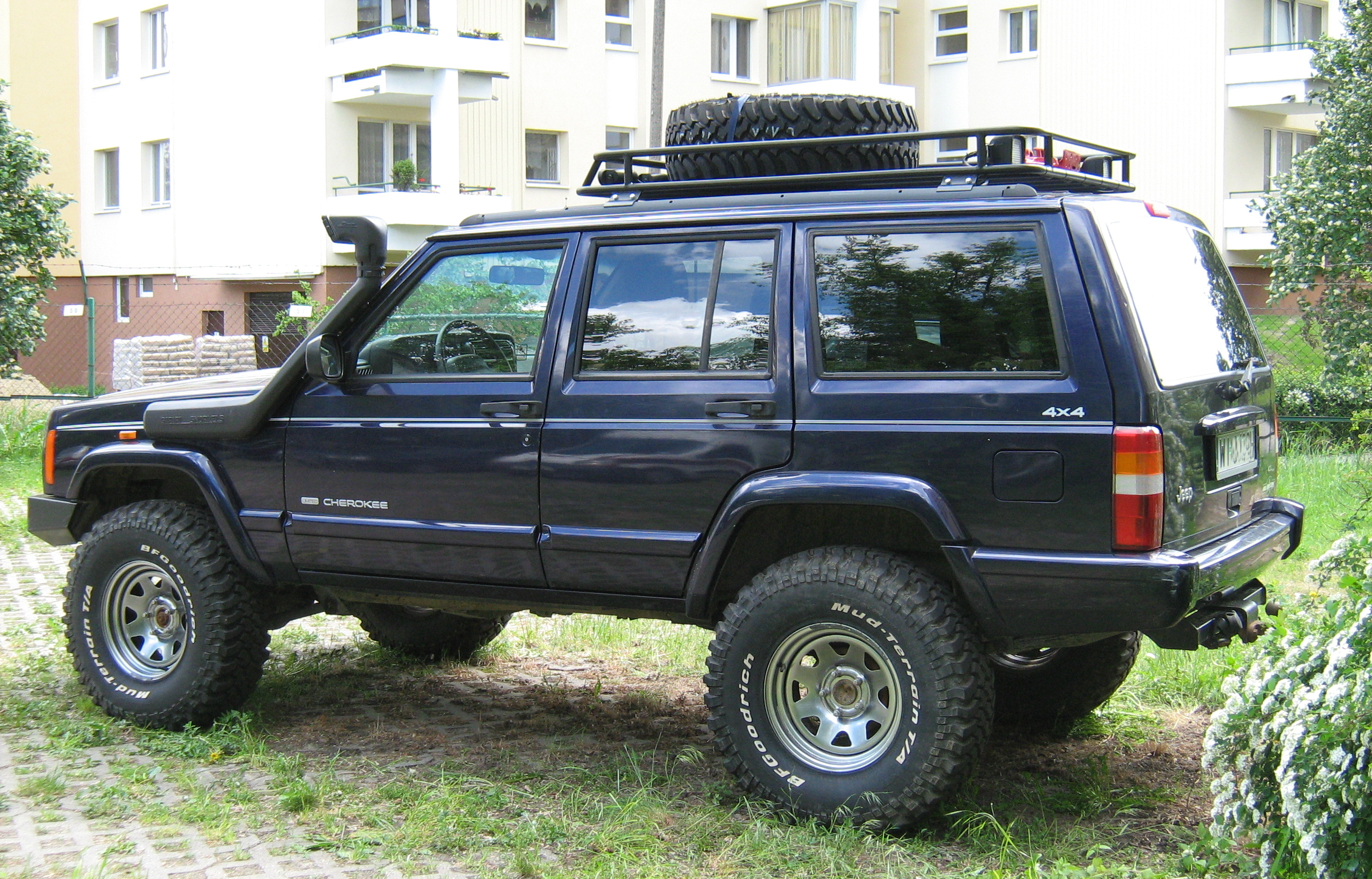 JEEP CHEROKEE blue