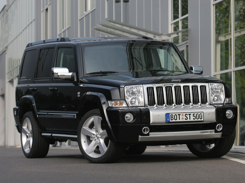 JEEP COMMANDER 3.0 CRD green