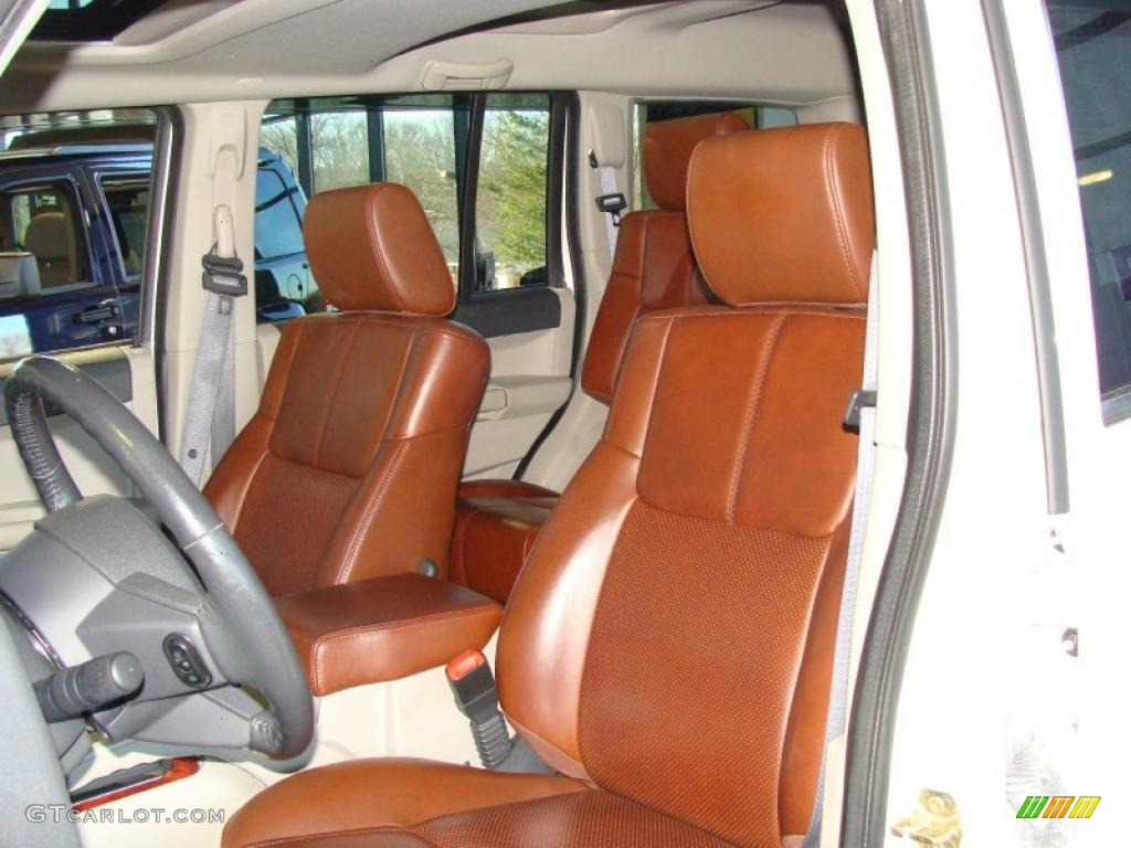 JEEP COMMANDER brown