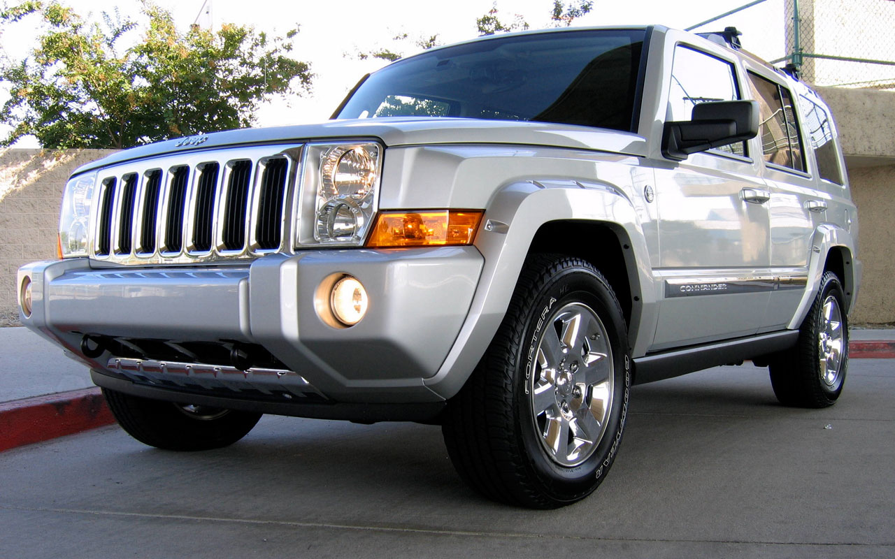 jeep commander - review and photos