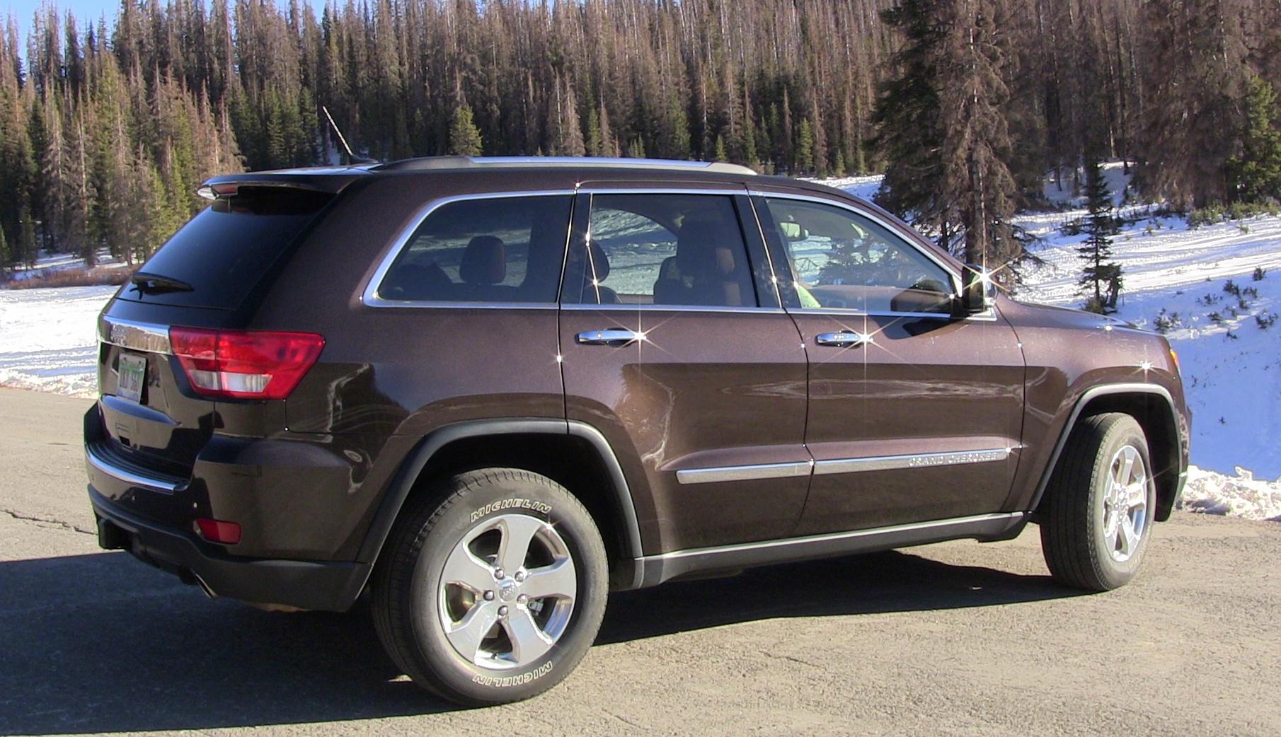 Jeep grand cherokee brown