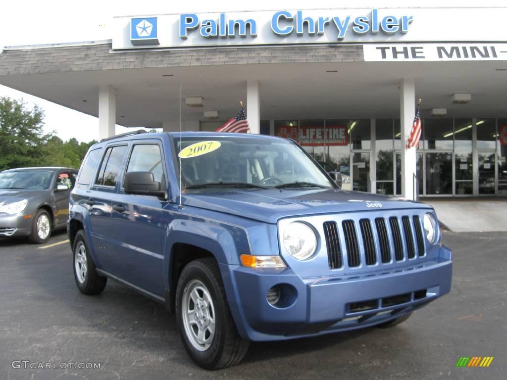 Jeep patriot blue