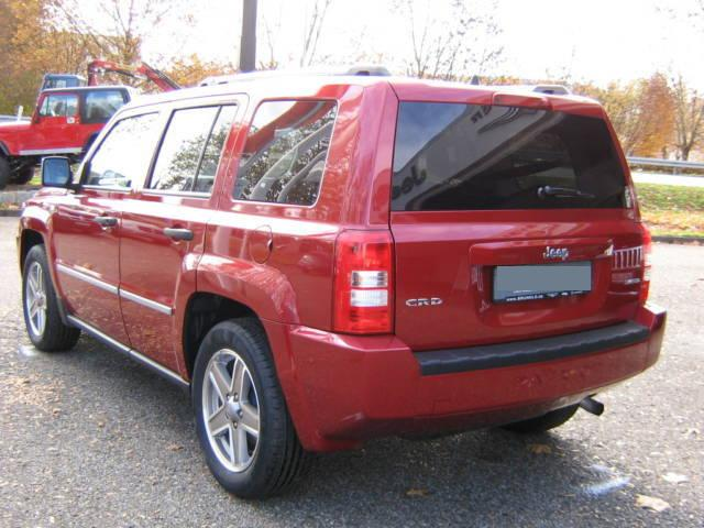 JEEP PATRIOT red
