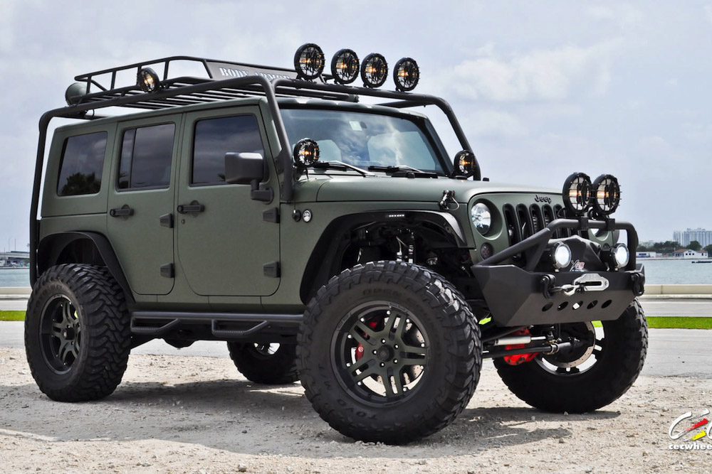JEEP WRANGLER - Review and photos
