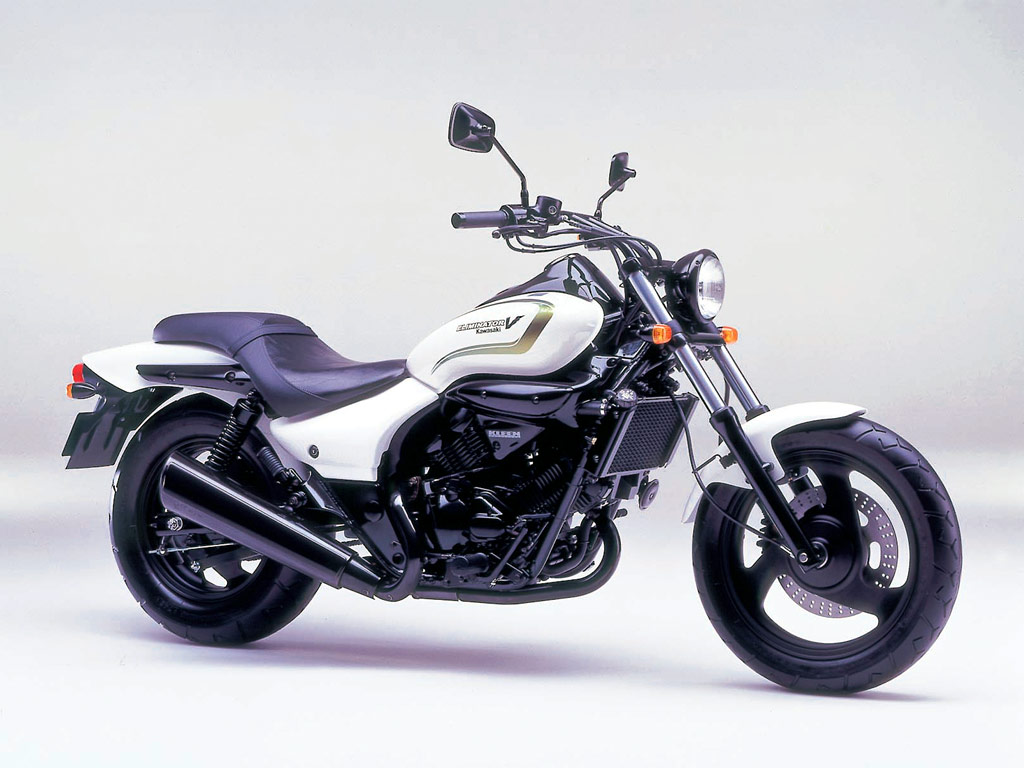 KAWASAKI 250 ELIMINATOR white