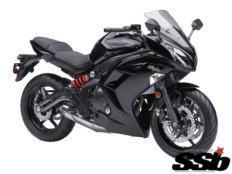 KAWASAKI 650 black