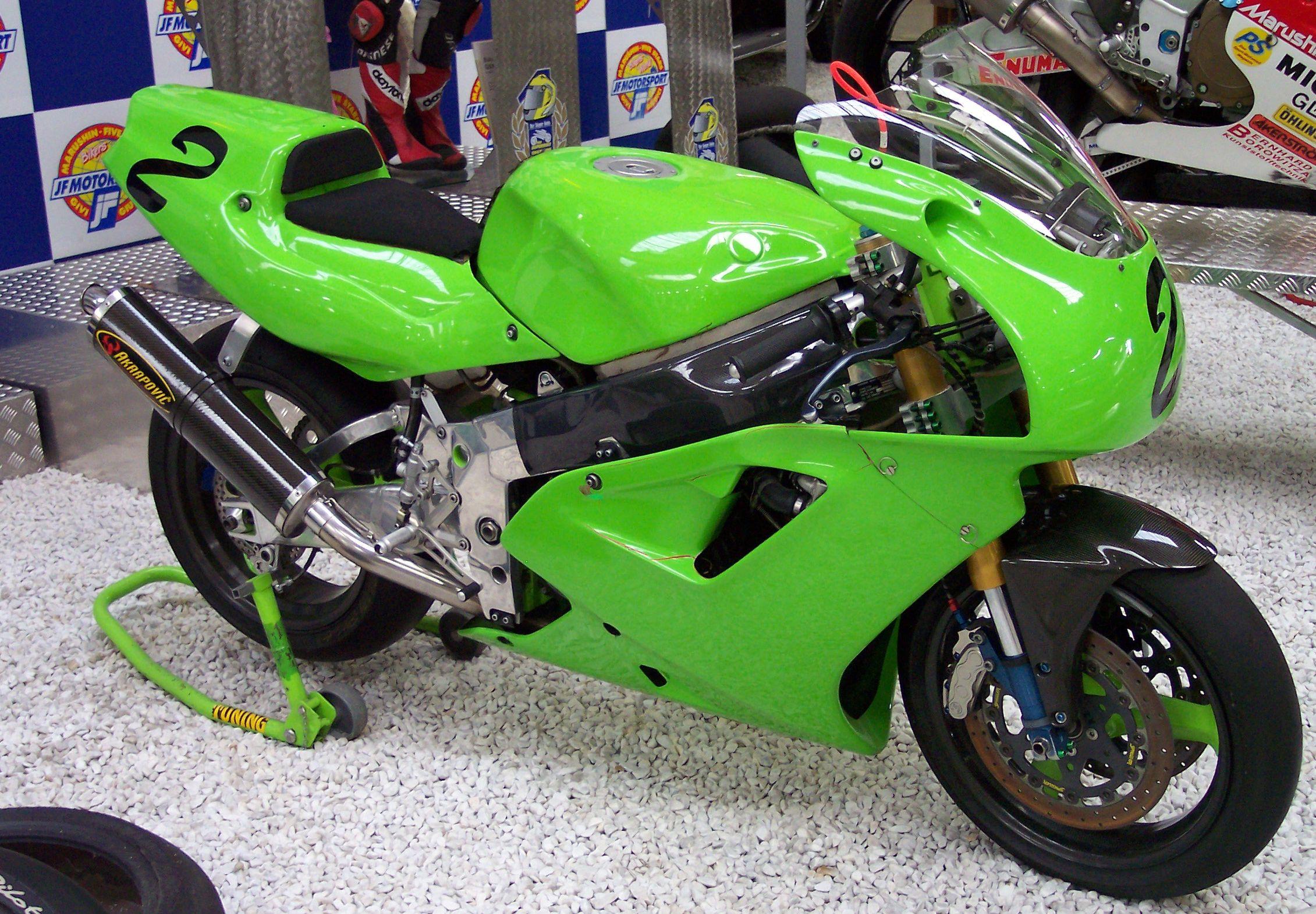 KAWASAKI 750 ZXR engine