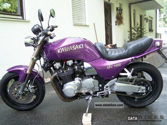 KAWASAKI GPZ 1100 green