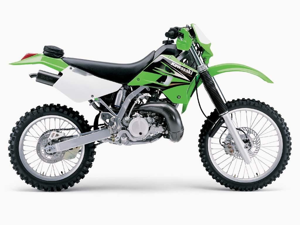 KAWASAKI KDX 125 green