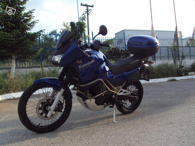 KAWASAKI KLE 500 blue