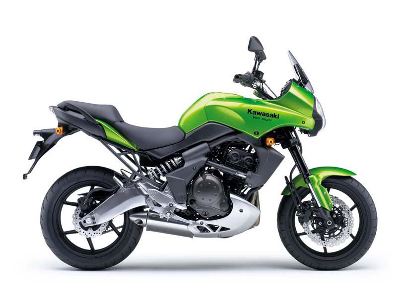KAWASAKI KLE 500 green