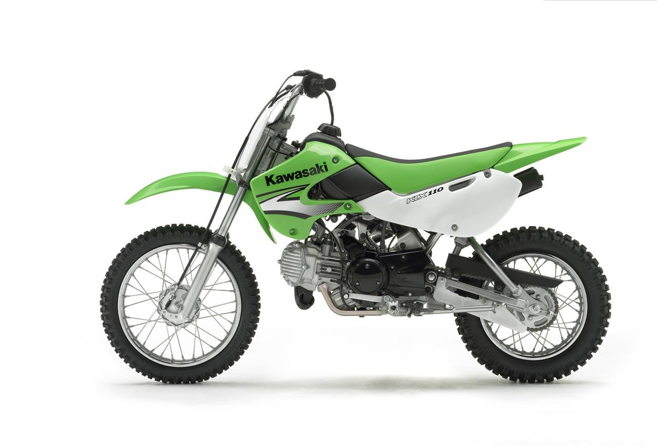 KAWASAKI KLX 110 green